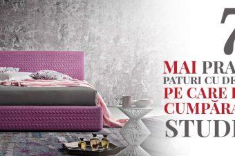 7 cele mai practice paturi cu depozitare pe care le poți cumpăra de la Studio 32