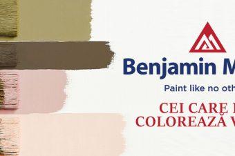 Benjamin Moore – Cei care ne colorează viața!