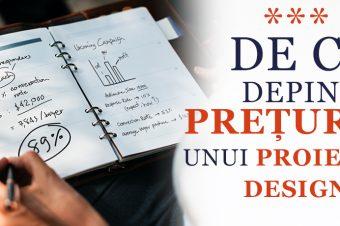 De ce depind prețurile unui proiect de design?