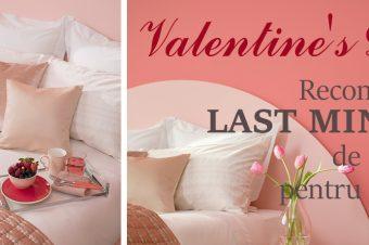 Valentine's Day – Recomandări LAST MINUTE de cadouri pentru casa ta!