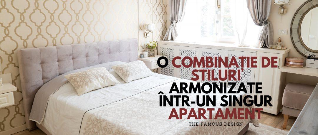 O combinație de stiluri armonizate într-un singur apartament
