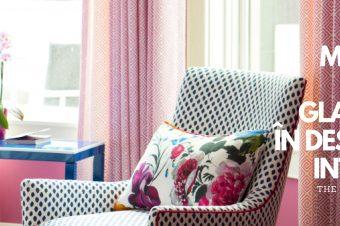 Moda și stilul Glamour în designul interior