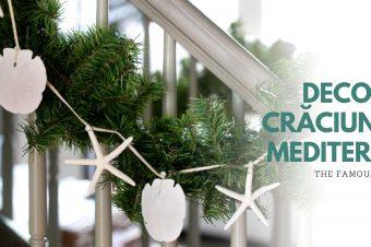 Decor de Crăciun în stil mediteranean