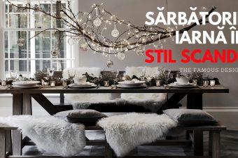 Sărbătorile de iarnă în stil Scandinav