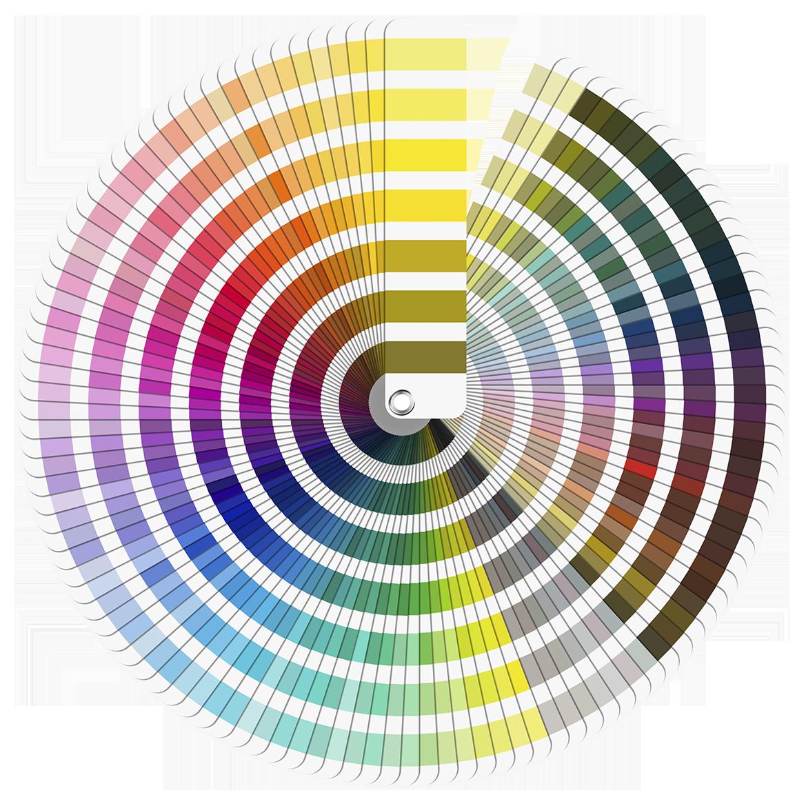 Paleta nelimitata de culori