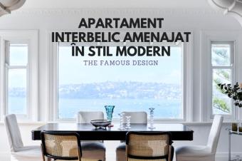 Apartament interbelic amenajat în stil modern