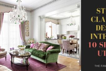 Stilul clasic în design interior: 10 sfaturi utile