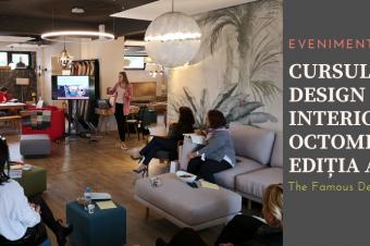 Cursul de design interior din 5-6 Octombrie 2019, Ediția a 4-a