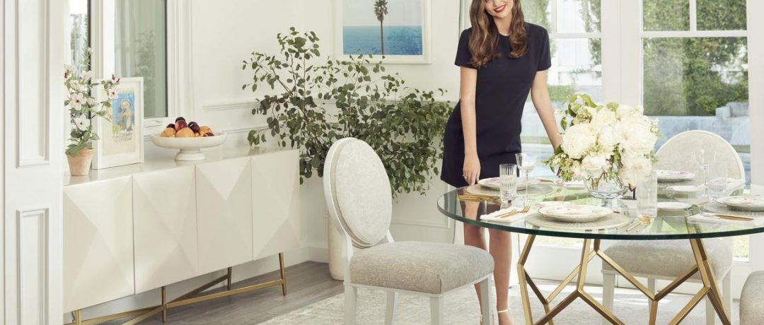Miranda Kerr lansează prima colecție de mobilier
