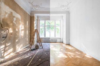 De ce cresc cheltuielile în timpul renovării?