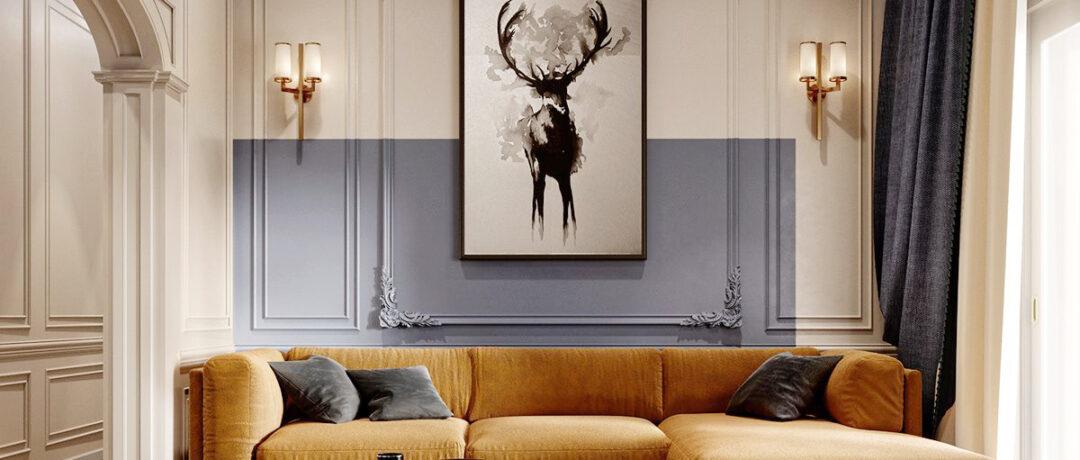 Stilul clasic contemporan – cel mai popular stil în designul interior